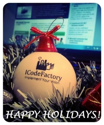 ICodeFactory Christmas Card 2015