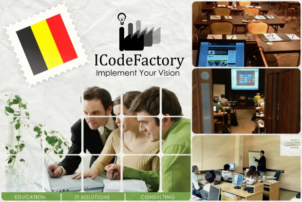 ICodeFactory in Brussels, Belgium, Education, MOC Training