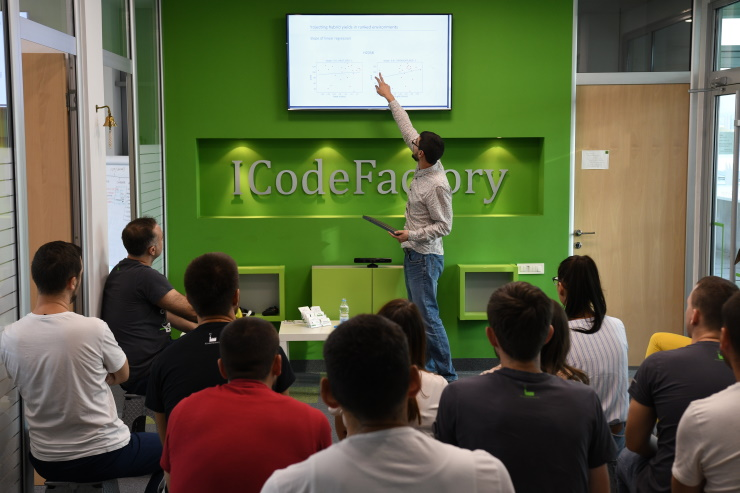 ICodeFactory, Big Data, Guest lecture, Implement Your Vision