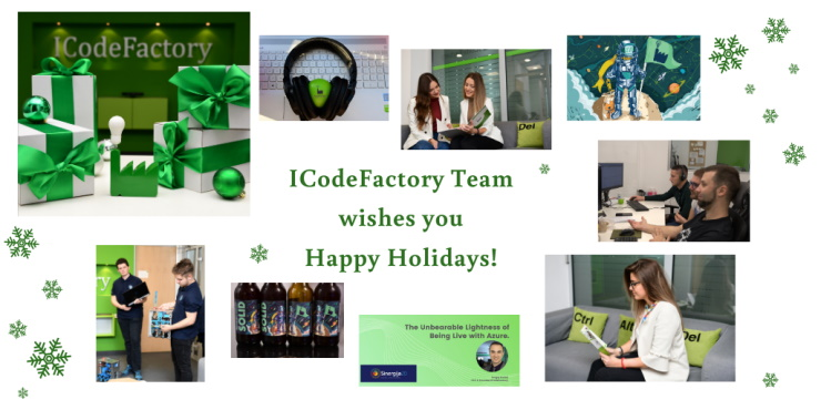 ICodeFactory, Happy holidays, Company Christmas, 2021