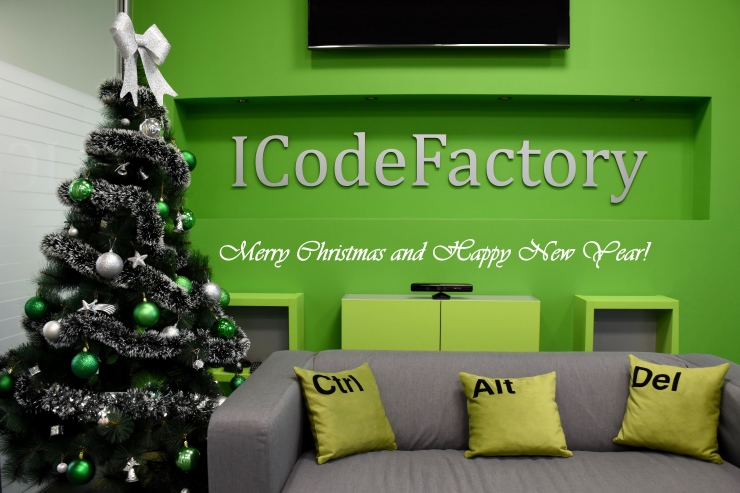ICodeFactory, Christmas, New Year 2018