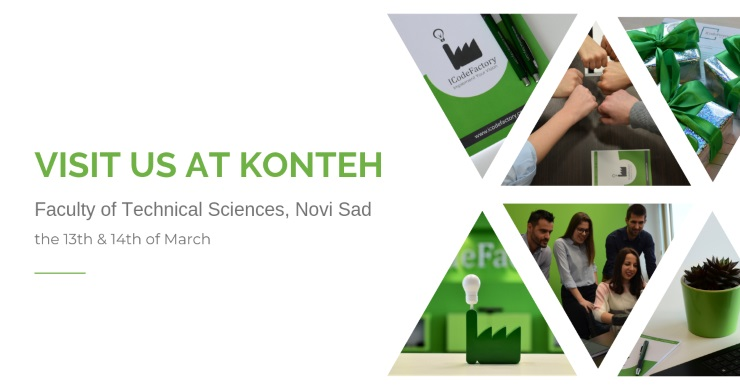 Konteh; ICodeFactory; 2019; Faculty of Technical Sciences; Novi Sad